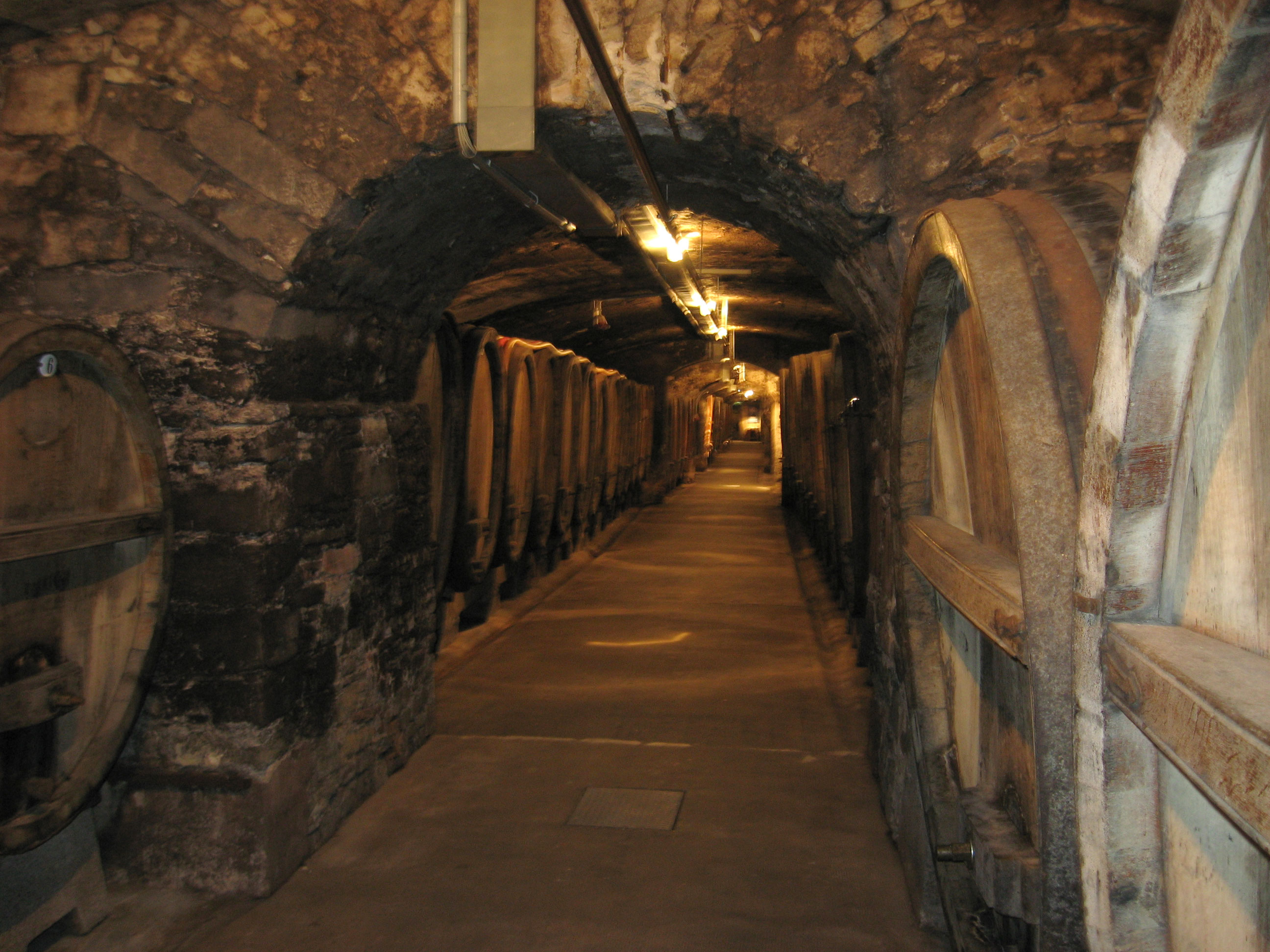 Cellars at Juliusspital, photo by <a href=