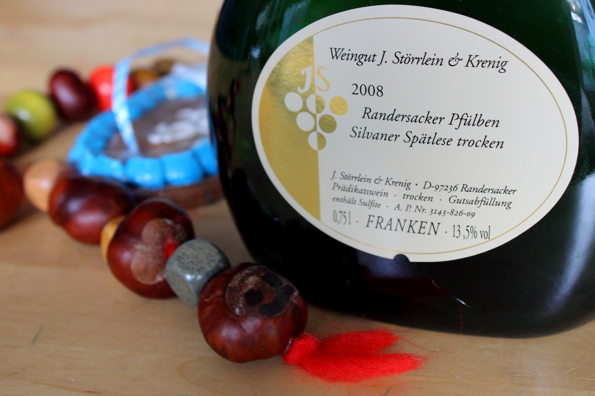 (Anti-)Oktoberfest still life with Silvaner